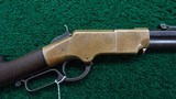 LATE PRODUCTION HENRY LEVER ACTION RIFLE