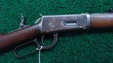 WINCHESTER MODEL 1894 RIFLE IN CALIBER 32-40 - 1 of 21