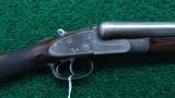 THOMAS BLAND 12 GAUGE SxS HAMMERLESS SHOTGUN