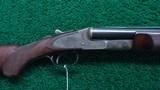 LC SMITH SxS CROWN GRADE 12 GAUGE SHOTGUN