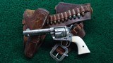 FACTORY ENGRAVED COLT BLACK POWDER SINGLE ACTION - 1 of 19