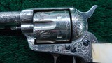 FACTORY ENGRAVED COLT BLACK POWDER SINGLE ACTION - 9 of 19