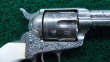 FACTORY ENGRAVED COLT BLACK POWDER SINGLE ACTION - 7 of 19