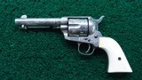 FACTORY ENGRAVED COLT BLACK POWDER SINGLE ACTION - 3 of 19