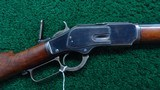 VERY FINE SPECIAL ORDER WINCHESTER 1873 RIFLE
