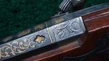 GOLD INLAID 1838 VICTOR ESTEBAN FOWLING PIECE - 8 of 21