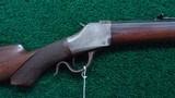VERY RARE ORIGINAL BROWNING SINGLE SHOT RIFLE IN CALIBER 40-70