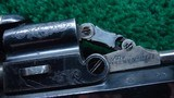 VERY FINE JAMES BEATTIE ENGLISH DOUBLE ACTION PERCUSSION TRANSITIONAL REVOLVER - 11 of 14