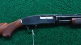 DELUXE CUSTOM MODEL 42 WINCHESTER 410 SHOTGUN