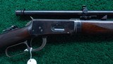 WINCHESTER 1894 DELUXE SPECIAL ORDER RIFLE WITH A5 SCOPE IN 25-35 WCF