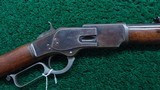 WINCHESTER 1873 1ST MODEL RIFLE IN CALIBER 44-40