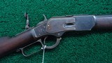 SPECIAL ORDER 30 INCH WINCHESTER MODEL 1873 RIFLE IN CALIBER 44-40