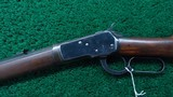 VERY FINE WINCHESTER MODEL 92 TAKE DOWN RIFLE IN CALIBER 44-40 - 2 of 19