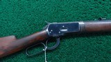 VERY FINE WINCHESTER MODEL 92 TAKE DOWN RIFLE IN CALIBER 44-40 - 1 of 19