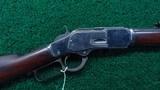 WINCHESTER MODEL 1873 RIFLE IN CALIBER 38-40