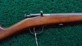 VERY FINE MODEL 58 WINCHESTER 22 CALIBER SINGLE SHOT RIFLE - 1 of 18