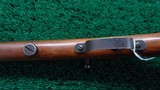 VERY FINE MODEL 58 WINCHESTER 22 CALIBER SINGLE SHOT RIFLE - 9 of 18