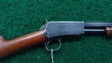 WINCHESTER 3RD MODEL 1890 RIFLE IN CALIBER 22 WRF