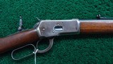 WINCHESTER MODEL 92 RIFLE IN 44 WCF