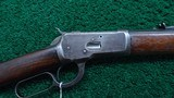 WINCHESTER MODEL 1892 RIFLE IN CALIBER 38-40 - 1 of 20