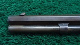 WINCHESTER MODEL 1873 WITH SCARCE SPECIAL ORDER 32 INCH OCTAGON BARREL AND FULL LENGTH MAG TUBE - 15 of 22