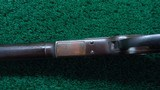 WINCHESTER MODEL 1873 WITH SCARCE SPECIAL ORDER 32 INCH OCTAGON BARREL AND FULL LENGTH MAG TUBE - 11 of 22