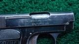 COLT POCKET MODEL 1908 HAMMERLESS IN 25 ACP - 6 of 8