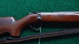 WINCHESTER MODEL 75 PRE-WAR TARGET RIFLE - 1 of 21