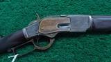 VERY FINE DELUXE WINCHESTER MODEL 1873 CALIBER 44-40