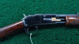 DELUXE COLT SMALL FRAME 22 CALIBER PUMP ACTION RIFLE