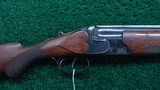 INTERESTING O/U PRE-WAR BELGIUM MADE 16 GAUGE SHOTGUN BY GEBRUDER REMPT