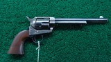 US COLT SINGLE ACTION IN CALIBER 45