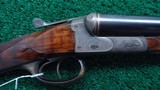 VERY INTERESTING HIGH GRADE PAIR OF J P SAUER DOUBLE BARREL 12 GAUGE SHOTGUNS - 5 of 21