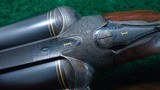 VERY INTERESTING HIGH GRADE PAIR OF J P SAUER DOUBLE BARREL 12 GAUGE SHOTGUNS - 10 of 21