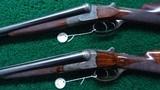 VERY INTERESTING HIGH GRADE PAIR OF J P SAUER DOUBLE BARREL 12 GAUGE SHOTGUNS - 2 of 21