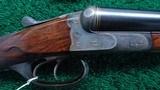 VERY INTERESTING HIGH GRADE PAIR OF J P SAUER DOUBLE BARREL 12 GAUGE SHOTGUNS - 6 of 21