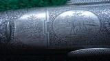 BEAUTIFUL CHARLES DALY 10 GAUGE DOUBLE BARREL DIAMOND QUALITY SHOTGUN - 12 of 20