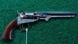 VERY FINE 1849 COLT POCKET REVOLVER WITH SCARCE 6 INCH BARREL