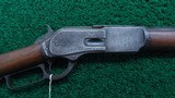 WINCHESTER MODEL 1876 RIFLE WITH FRONTIER DOCUMENTATION - 1 of 22