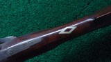 VERY NICE AMERICAN MADE UNMARKED MULE EAR HALF STOCK PERCUSSION RIFLE - 10 of 21