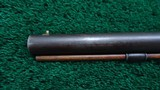 VERY NICE AMERICAN MADE UNMARKED MULE EAR HALF STOCK PERCUSSION RIFLE - 15 of 21