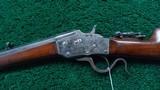 SINGLE SHOT BULLARD TAKE DOWN RIFLE IN CALIBER 38-55 - 2 of 23