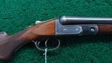 parker sxs 12 gauge shotgun