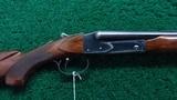 very rare winchester model 21 deluxe skeet gun