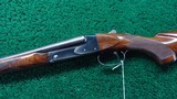 VERY RARE WINCHESTER MODEL 21 DELUXE SKEET GUN - 2 of 24