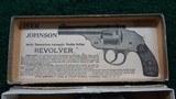 VERY RARE IVER JOHNSON SAFETY HAMMERLESS 32 CALIBER DA REVOLVER IN BOX - 13 of 15