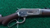 SPECIAL ORDER WINCHESTER MODEL 1886 RIFLE IN CALIBER 33