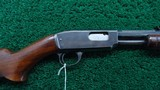 WINCHESTER MODEL 61 RIFLE WITH SPECIAL ORDER OCTAGON BARREL IN CALIBER 22 LR