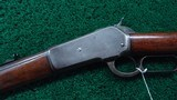 WINCHESTER 1886 RIFLE IN CALIBER 38-70 - 2 of 21