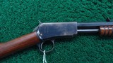 WINCHESTER MODEL 1890 IN CALIBER 22 LONG - 1 of 22